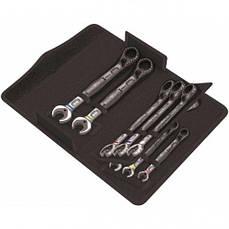 Набор трещоточных ключей изогнутых Wera 24152 8-19мм (11 предметов)