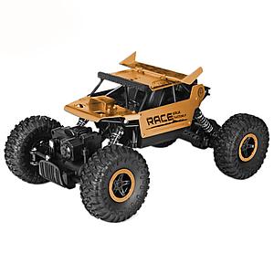 Машинка на радиоуправлении Monster Truck Flytec 9118, желтая