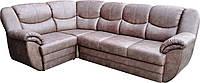 Мягкий угловой диван  Бостон с мягкими подлокотниками