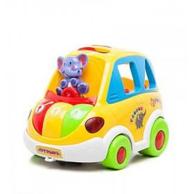 """Детская Многофункциональная Машинка-Сортер Joy Toy """"Автошка"""" со звуковыми и световыми эффектами (9198)"""