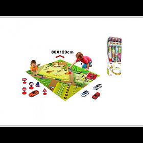 """Детский Развивающий Игровой Коврик Meying  """"Правила дорожного движения"""" (019A-30C)"""
