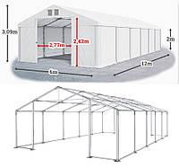Шатер 6х12 ПВХ с мощным каркасом, торговый павильон палатка тент ангар