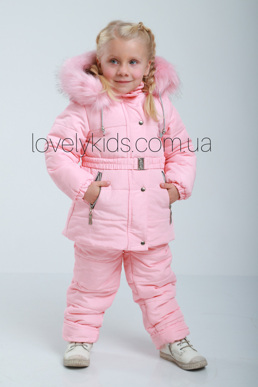 Зимний костюм для девочки 98р