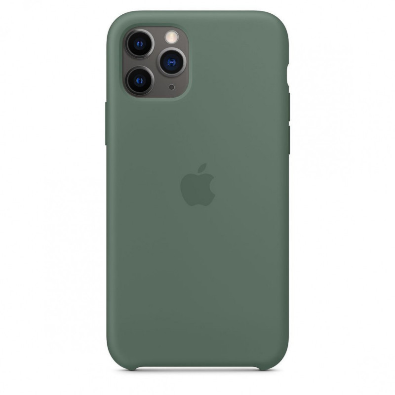 """APPLE SILICON CASE IPHONE 11/11PRO """"PINE GREEN"""""""
