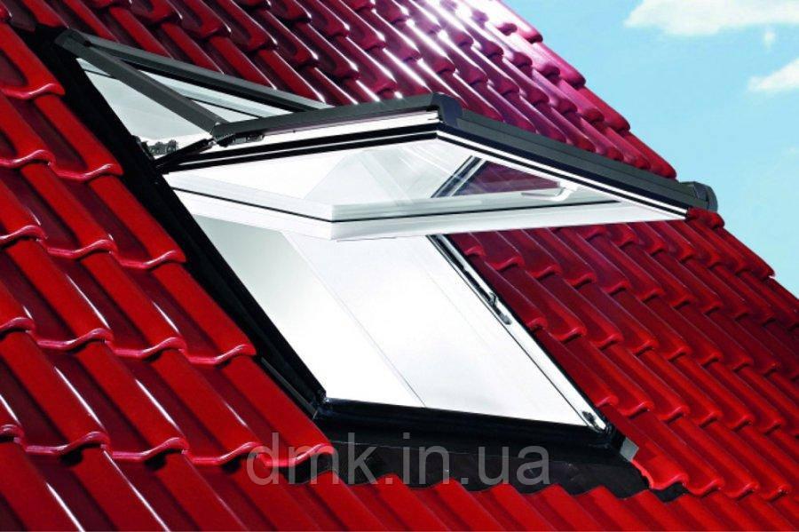Вікно мансардне Designo WDF R75 K W AL 05/09