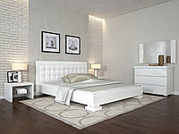 Кровать Arbor Drev Монако бук 120х200, Белый