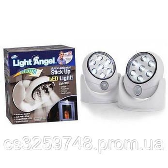Светодиодный LED светильник Light Angel с датчиком движения, фото 2