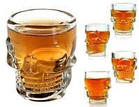 Набор  стаканов в виде черепа