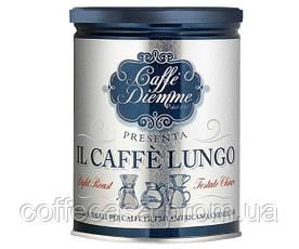 Кофе молотый Diemme Barattolo Il Lungo 250 г ж/б