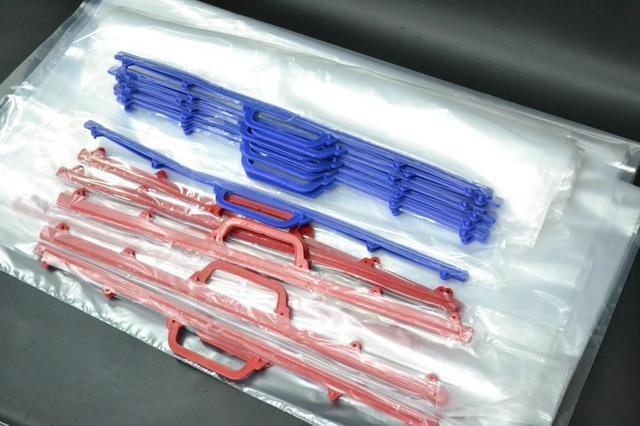 Полиэтиленовая упаковка с ручками