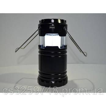 Кемпинговый Фонарик c солнечной батареей панелью UTM G85, фото 2