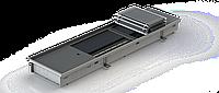 Внутрипольный конвектор Heatmann Line Fan 90*1800*250 мм с алюминиевой решеткой