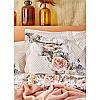 Набор постельное белье с покрывалом Karaca Home - Elsa somon 2020-1 лососевый евро, фото 3