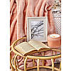 Набор постельное белье с покрывалом Karaca Home - Elsa somon 2020-1 лососевый евро, фото 4