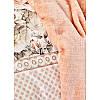 Набор постельное белье с покрывалом Karaca Home - Elsa somon 2020-1 лососевый евро, фото 5