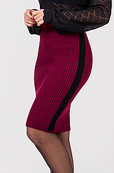 Вязаная юбка-карандаш