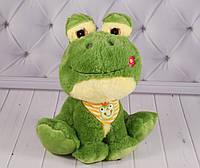 Мягкая игрушка лягушка, 28 см., фото 1