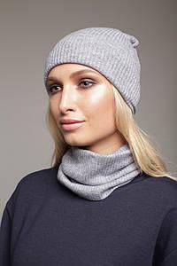 """Комплект шапка и снуд """"ERICA"""" LVN1604-0804 #O/V"""