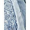 Набор постельное белье с покрывалом Karaca Home - Lanika mavi 2020-1 голубой евро, фото 3