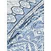 Набор постельное белье с покрывалом Karaca Home - Lanika mavi 2020-1 голубой евро, фото 5