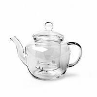 """Заварочный чайник """"Lucky"""" 21х8х14.5см/1л из боросиликатного стекла Fissman"""