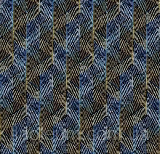Ковролин флокированное покрытие Flotex vision pattern 730002 Helix Breeze