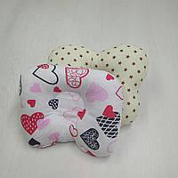 Ортопедическая подушка для новорожденных Тм Миля Сердце 22 х 26 см