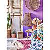 Набор постельное белье с покрывалом Karaca Home - Mishka fusya 2020-1 фуксия евро, фото 2