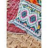 Набор постельное белье с покрывалом Karaca Home - Mishka fusya 2020-1 фуксия евро, фото 3