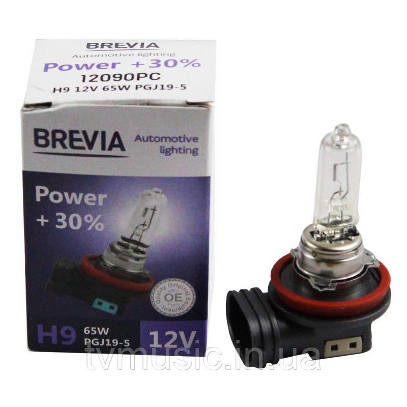 Автолампа BREVIA Power +30% H9 12V 65W 4200K