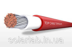 Кабель для солнечных батарей Topsolar PV H1Z2Z2-K1х4мм красный