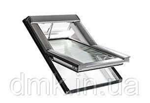 Вікно мансардне Designo WDT R45 H N WD AL 11/14 E