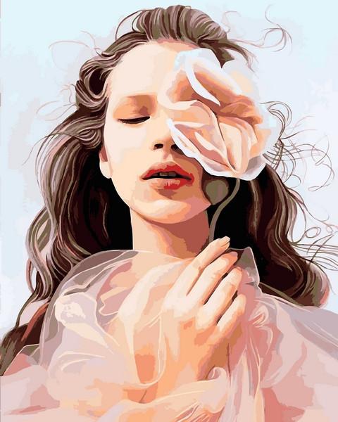 Картины по номерам 40×50 см. Нежная красота Художник Siena Summers