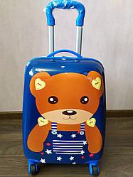 Детский чемодан на 4 колесах Мишка Tedy  45*31*21