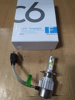 Автомобильные светодиодные лампы (LED) Led Headlight C6 36w/3800Lm H4 - производства Китая