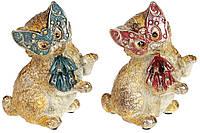 Декоративная фигура Кошка в маскарадной маске 16см, 2 вида BonaDi 419-152