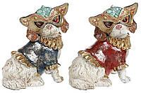 Декоративная фигура Собака в маскарадной маске 17.5см, 2 вида BonaDi 419-159