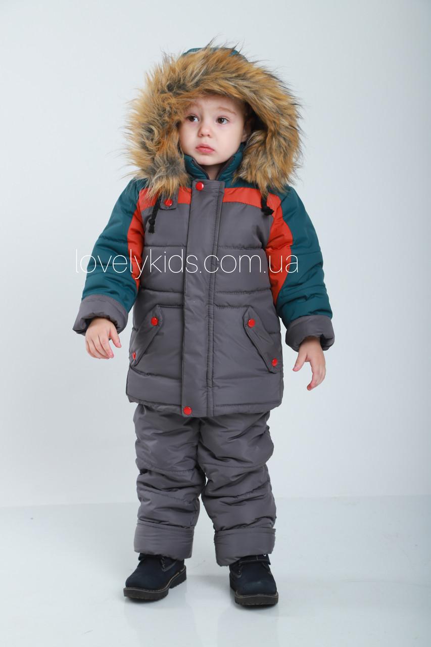 Детский зимний комбинезон 86р