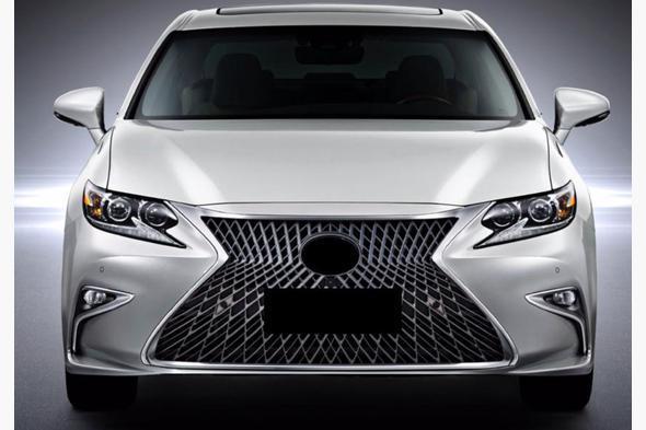 Передняя решетка (F-Sport) Lexus ES 2018↗ гг.