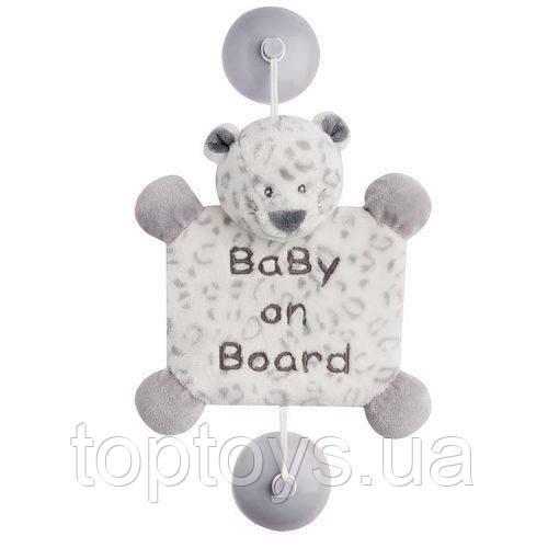 Іграшка на присосках Nattou Дитина на борту леопард Лея (963442)