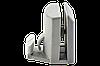 Нижний направляющий крючок для стеклянных дверей душевой кабины пластиковый серый К-1, фото 6