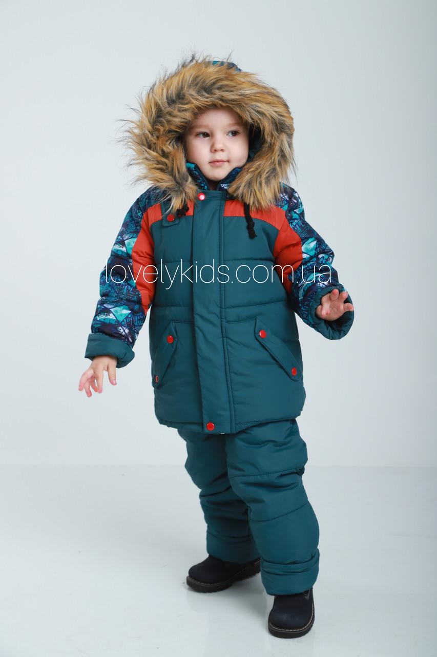 Детский зимний комбинезон 98р
