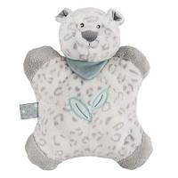 М'яка іграшка-подушка Nattou Леопард Лея 24 см (963114)