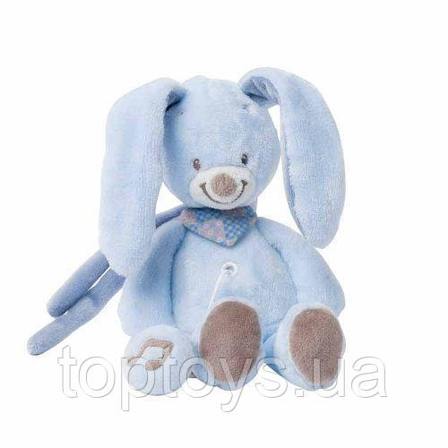 М'яка іграшка Nattou Кролик Бібу з музикою 21 см (321 068)