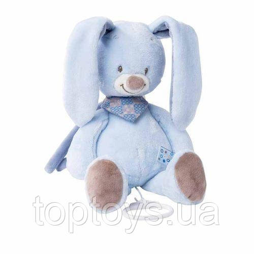 М'яка іграшка Nattou Кролик Бібу з музикою 28 см (321044)