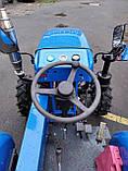 Мототрактор Титан Т-24 с фрезой и плугом BLUE (Full set) 24 л.с., фото 5