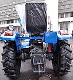 Мототрактор Титан Т-24 с фрезой и плугом BLUE (Full set) 24 л.с., фото 4