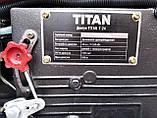 Мототрактор Титан Т-24 с фрезой и плугом BLUE (Full set) 24 л.с., фото 9