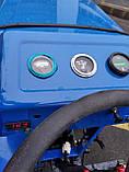 Мототрактор Титан Т-24 с фрезой и плугом BLUE (Full set) 24 л.с., фото 6