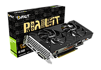 Видеокарта Palit GeForce GTX 1660 Dual OC 6GB GDDR5 (NE51660S18J9-1161A)